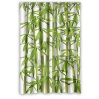 Unique Fabric Bamboo Shower Curtain 48 By 72