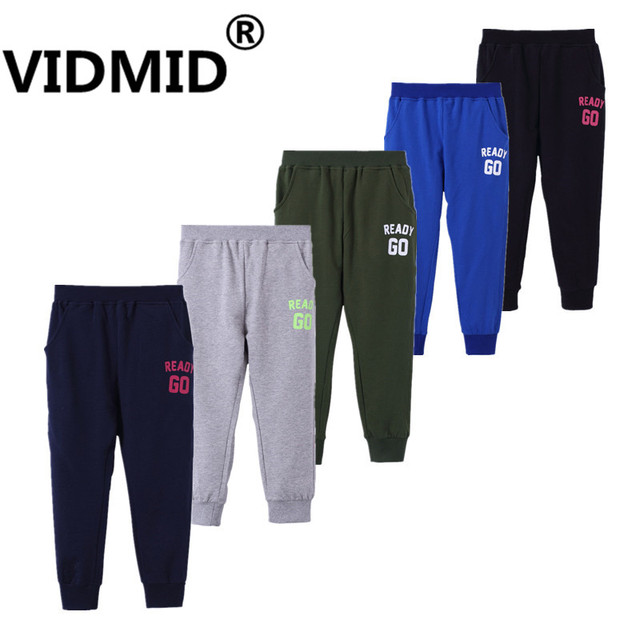 d9824e6e18ab VIDMID Boy cotton Pants Spring Teenage Boy Sports Pants Spring Toddler  Casual Kids Trousers For 3-12 years Boys Clothes 7010 67