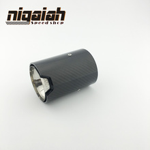 Real Carbon Fiber Exhaust tip For M Performance exhaust pipe M2 F87 M3 F80 M4 F82 F83 M5 F10 M6 F12 F13 X5M X6M for bmw m2 carbon gear base cover m2 f87 e92 m3 f80 m4 f82 f10 m5 m6 f85 x5m f86 x6m gear surround cover for right hand drive