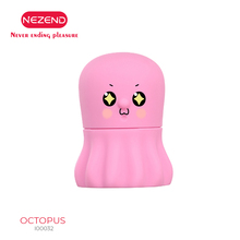 NEZEND7 frequency strong tongue cute octopus vibration toy usb charging jumping egg G point clitoris vibrator
