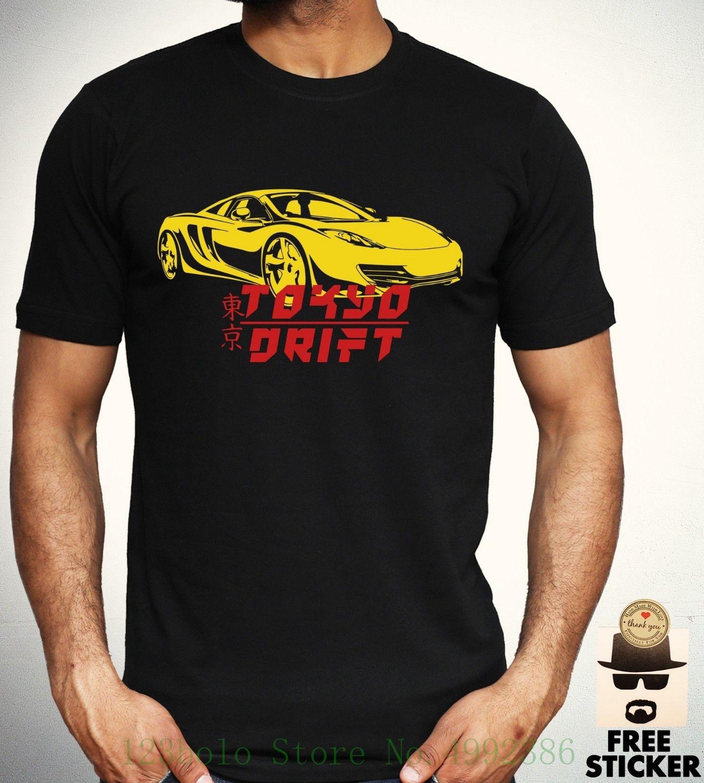 Tokyo Drift T Shirt Japan Jdm Cars Racer Tee Cool Novelty ...