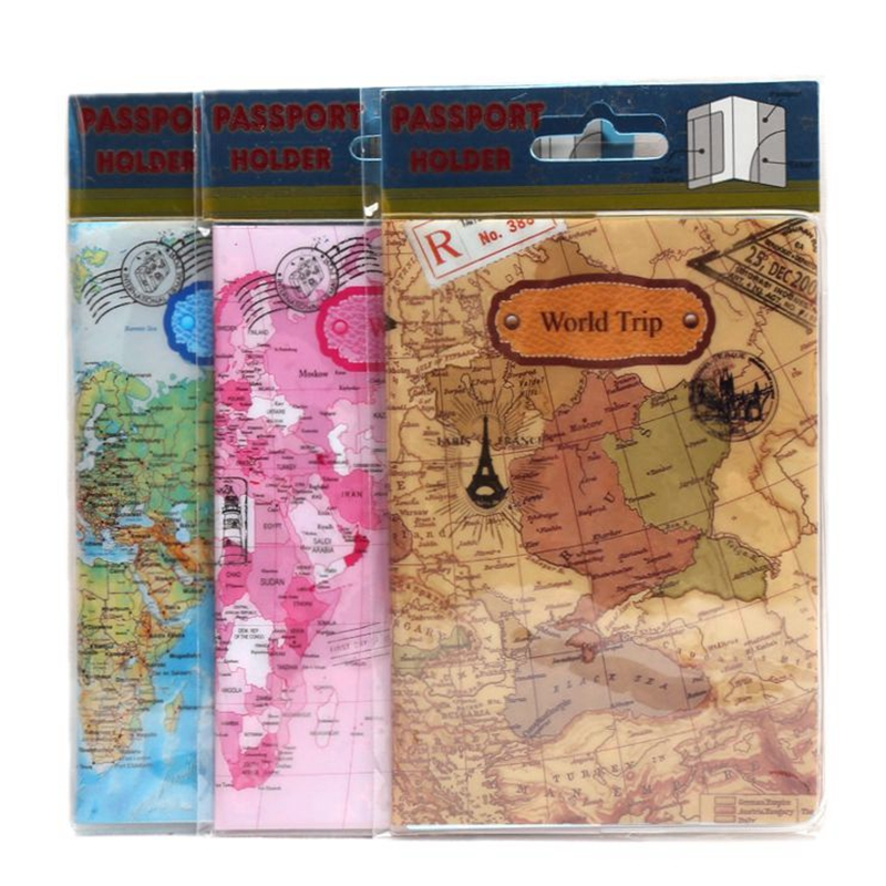 22 Styles For Choose Fashion Cartoon Style 3D Passport Holder PVC Travel Passport Cover Case,14*9.6cm Card & ID Holders love and clouds two kinds of styles passport cover passport holder luggage tag silicone strap three pieces