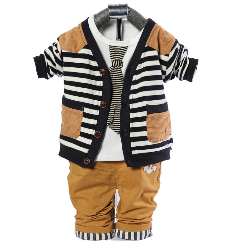 2015new spring autumn baby boy set  newborn boys set coat+t shirt+pants 3pcs toddler boys suits  free shipping spring autumn boys t shirt 5pcs lot high quality baby boy t shirt