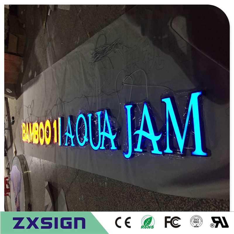 Custom Outdoor Advertising Front Lit Acrylic Led Letters, Led Channel Letters