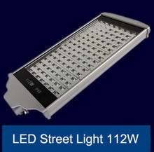 professional manufacturer of LED street light 112W IP65 with high efficience round lamp express free shipping