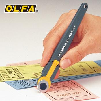 Profesjonalna płyta grzejna przerywana nóż do cięcia długopisu kupony do loterii łatwa linia łza nóż introligatorski tanie i dobre opinie 2 Sizes