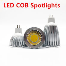 New high power LED lâmpada MR16 GU5.3 choque 12 9 6 w w w Regulável GOLPE Holofote quente branco fresco MR16 mr16DC12V 12 v lâmpada GU 5.3 220 v