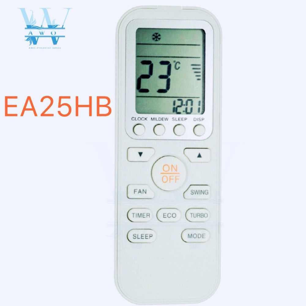 Yeni EA25HB Electrolux Model İngilizce Klima Uzaktan Kumanda|Uzaktan  Kumandalar