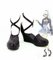 RWBY Weiss Schnee cosplay Shoe Anime boots Custom made