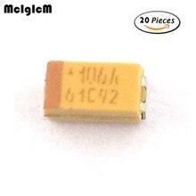 A100 20pcs A 3216 10uF 10V SMD tantalum capacitor