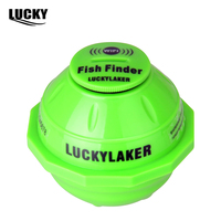 Lucky FF916 WiFi Wireless Fish Finder Russian Sonar Fishfinder IPone IPAD Best Deeper Echo Sounder For