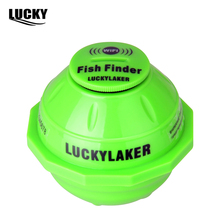 Fortunate Laker FF916WiFi Wireless Fish Finder Russian Sonar Fishfinder APP Best Deeper Echo Sounder Bite Alarm for Depth Fishing