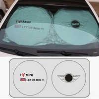 Sol Da Janela Dianteira do carro Sol Sável Brisa Visor Capa Para MINI Cooper One S R50 R53 R56 R60 F55 F56 r58 R59 Acessórios Do Carro