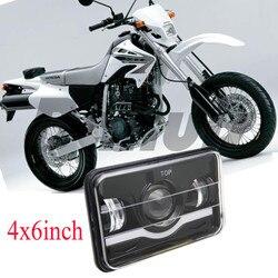 12 V 24 V 4x6 6x4 LED reflektor 45 W zamknięte wiązki światło robocze Led z h4 wtyczka do światła motocyklowe na