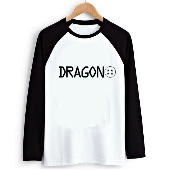 DGCY Male Raglan T-shirt Long Dragon ball 1