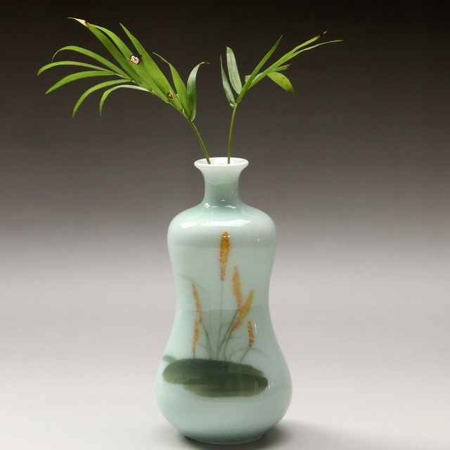 Mini Vintage Home Decoration Vases Antique Ceramic Flower Vase Pot
