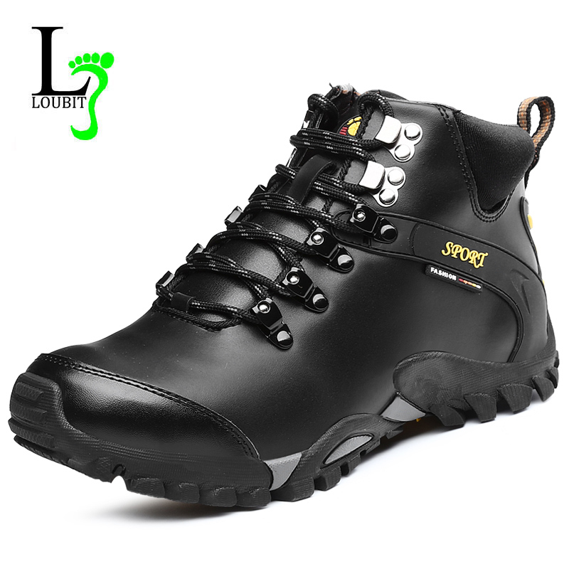 mens leather winter boots yu boots