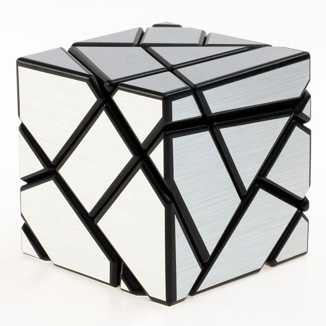 2016 Más Reciente Nanja Fantasma Iq Cubo mágico 3x3 Puzzle Negro Cubos Magicos Rompecabezas Juguetes Educativos Juguetes Especiales