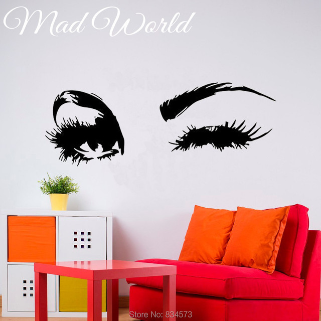 Eyes Wall Decal Best Photos HD - Wall decals hd