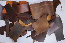 Free Leather Scrapes - Pay only Shipping- 1 lb(about 0.5kg) 1.4mm-2.0mm Mix Color Hobby Horse Cowhide Craft Raw Matieral(China)