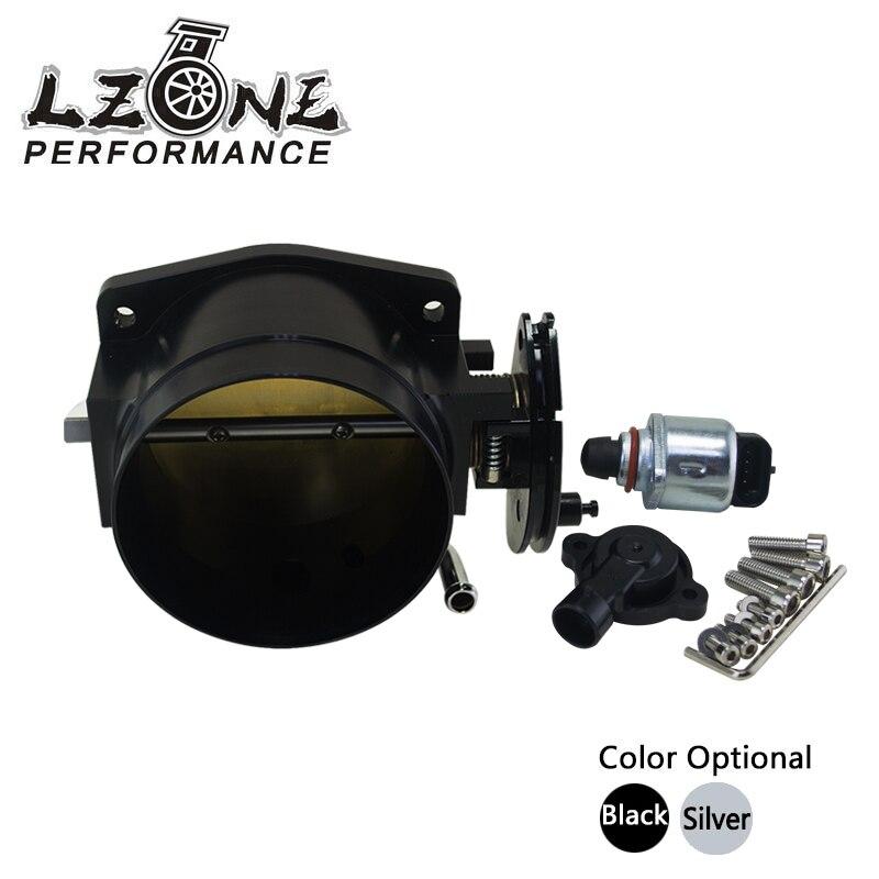 LZONE RACING - 92mm throttle body + TPS IAC Throttle Position Sensor for LSX LS LS1 LS2 LS6 JR6937+5961  цены