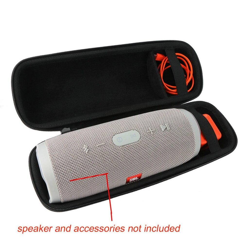 For JBL Charge 3 Practical Speaker EVA Carry Storage Bag Case Waterproof Black