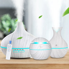 KBAYBO Aroma Air Humidifier Wood Aroma Essential Oil Diffuser Ultrasonic Humidifier cool Mist Maker for Home Spa Mini Humidifier aroma diffuser wood grain cool mist humidifier 450ml ultrasonic aroma essential oil diffuser for home office study yoga spa room