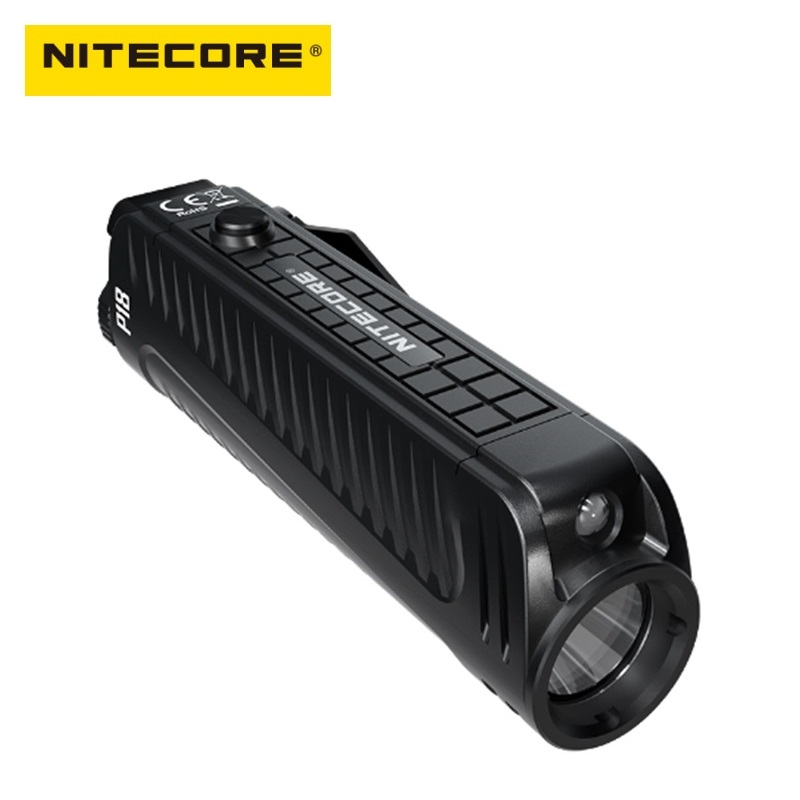 Nitecore P18 LED Flash light CREE XHP35 HD 1800 Lumens Tactical Flashlight with Auxiliary Red Light by 18650 Battery
