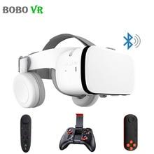 בובו Bobovr Z6 קסדה קסדת 3D VR משקפיים מציאות מדומה אוזניות עבור iPhone אנדרואיד Smartphone חכם משקפי Lunette Ios