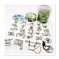 24 PCS/Set IQ Metal Wire Puzzle for Children/Adults,Creative Brain Teaser Puzzles Game Educational Toys Free Shipping