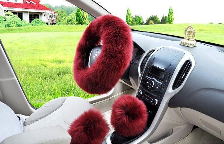 long-Wool-Plush-Steering-Wheel-Cover-Woolen-Winter-Car-Accessory-wine red12