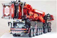 2019 New MOC Power Mobile Crane Building LTM11200 RC Technic Motor legoing Kits Blocks Bricks birthday diy toy Gift