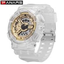 цена на PANARS New Arrival Military Watch Men's LED Digital Watch Outdoor Multi-function Waterproof Sports Watch Relojes Hombre 8125