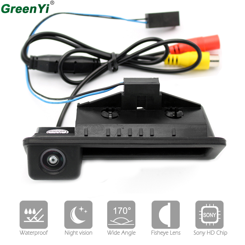 HD Sony CCD 170 Angle Rear Camera For BMW 3 Series 5 Series X5 X1 X6 E39 E46 E53 E82 E88 E84 E90 E91 E92 E93 E60 E61 E70 E71 E72