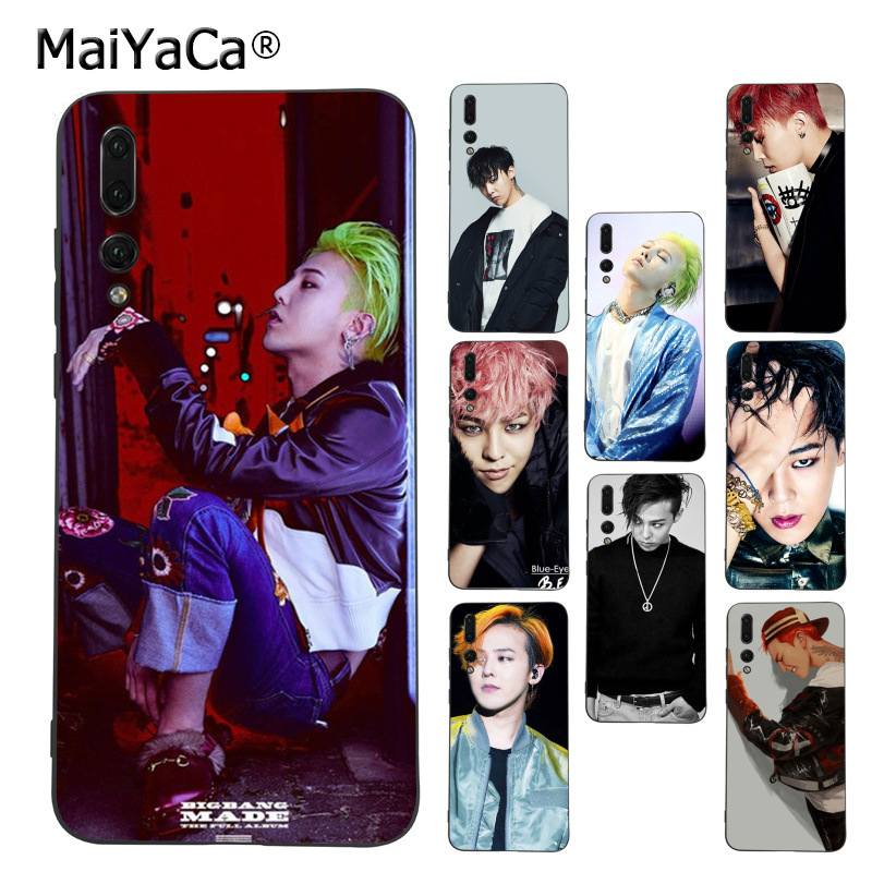 MaiYaCa G-DRAGON <font><b>BIGBANG</b></font> GD Kwon Ji Yong Waterproof soft Phone Case for Huawei P9 10 plus 20 pro mate9 10 lite honor 10 view10 image