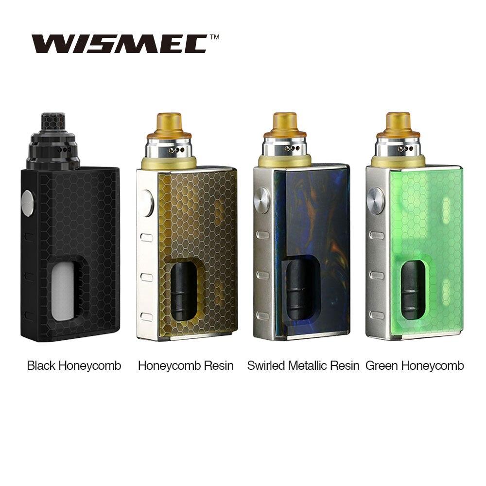 New Original WISMEC Luxotic BF Box Kit with Luxotic Squonker MOD & Tobhino BF RDA & 7.5ml Bottle 18650 Box Mod WISMEC Vape Mod yiloong vape geyscano bf rda