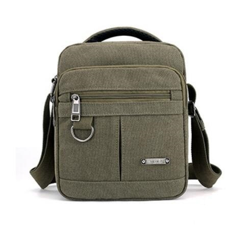 YOOFISH Men's fashion travel bag messenger shoulder bag Hot sale canvas classic leisure student bag free shipping XZ-138.