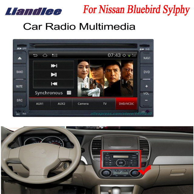 liandlee 2 din car android gps navi navigation for nissan bluebird rh aliexpress com Bluebird Sylphy Interior Bluebird Sylphy Interior