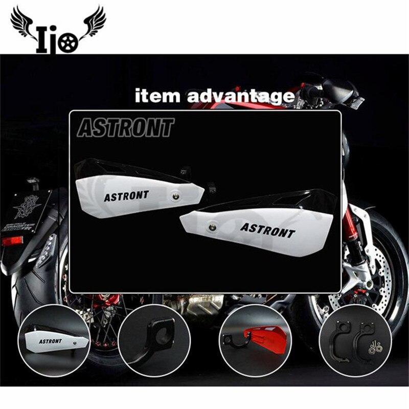 7 couleurs de protection de moto de fosse de saleté protection de main de moto universelle 22 MM 28 MM moto