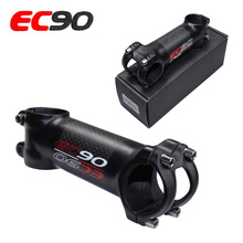 EC90 aluminum + carbon fiber riser rod Stem Bicycle ultra-light handle 28.6-31.8MM 6degree 17 degree