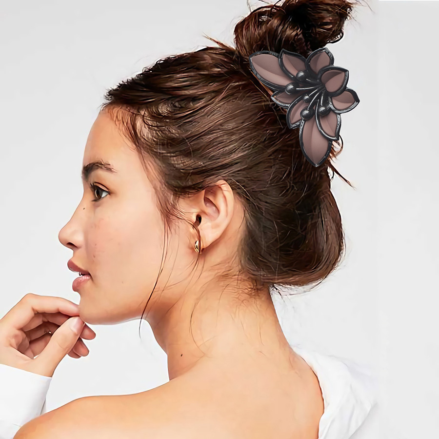 Hair Crab for Women   Headwear   Girls Korean Style Hair Claw Clip Woman Fashion Big Barrettes Crabs Hair Accessories 2019 VERVAE