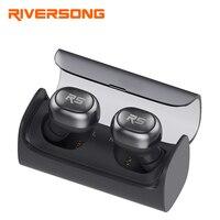 Mini Bluetooth Stereo Headset RIVERSONG Air X 2 Wireless Headphone Sport Earpiece Waterproof Car Earphones Built