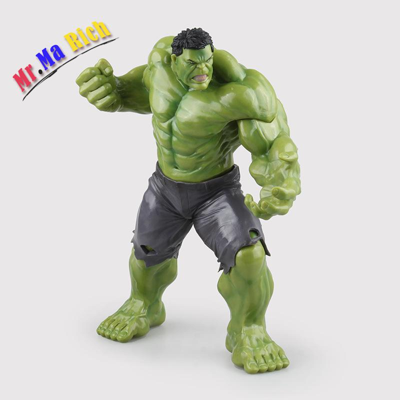 Crazy Toys Avengers Age Of Ultron Hulk Brinquedos Pvc Action Figure Anime Juguetes Collectible Model Doll Kids Toys 23cm crazy toys avengers age of ultron hulk brinquedos pvc action figure anime juguetes collectible model doll kids toys 23cm