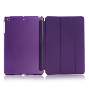 Case for iPad mini 1/2/3 Ultra Slim Fit Leather Case Smart Rubberized Back Magnet Cover for iPad mini 3(China)
