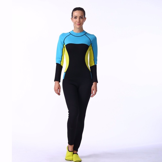 f7e955ac13 US $57.82 |LIFURIOUS New Female Wetsuits Breathable Swimwear Swimming  Surfing Suit Underwater Hunting Diving Skin Protect Dry Wetsuit-in Wetsuit  from ...