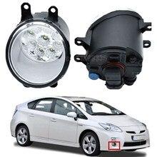 H11 Авто галогенные противотуманные свет DRL дневные ходовые огни автомобилей светодио дный лампы для Toyota Prius хэтчбек (ZVW3 _) 1,8 Hybrid 2009-