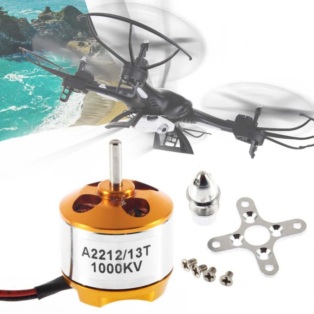 A2212 1000KV Brushless Motor For RC Helicopter Aircraft Quadcopter xxd a2212 1000kv brushless motor for rc airplane quadcopter