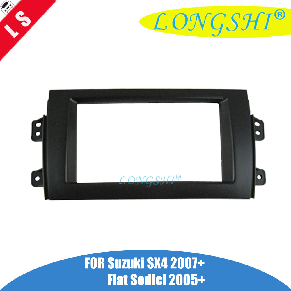 2007 Suzuki Sx4 Fuse Box Location: Black 2Din Car Radio Fascia For 2007 2013 Suzuki SX4 For