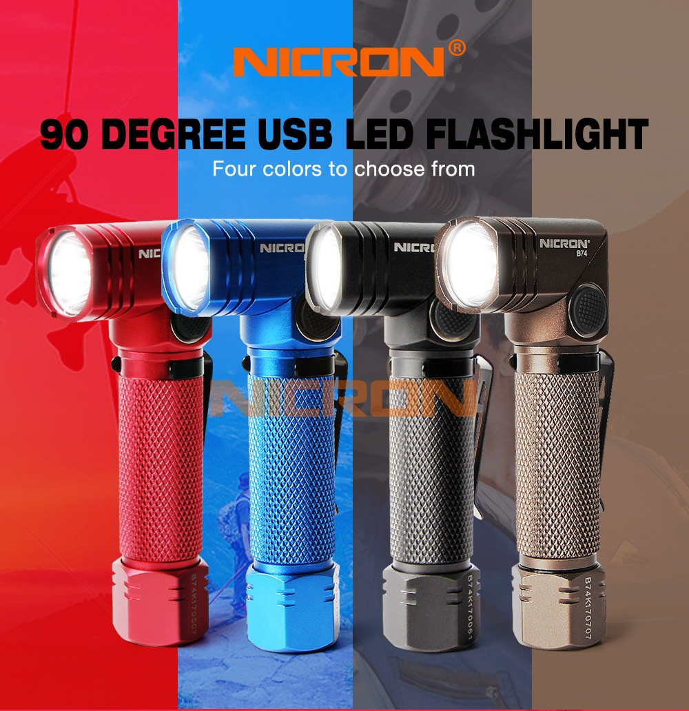 01 Multicolor flashlight