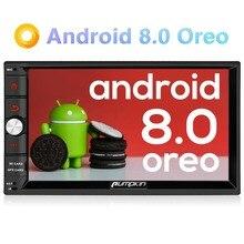 Тыква 2 Din 7 »Android 8,0 gps универсальный автомобильный Радио нет DVD плеер 2 г оперативная память 32 Встроенная стерео аудио Wi-Fi 4 г Быстрая загрузка головного устройства